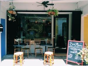 Shop Wonderland Cafe & Flower Shop at 37 Haji Lane S (189230) Instagram: @shopwonderlandsg
